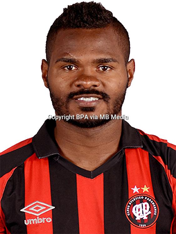 Brazilian Football League Serie A / <br /> ( Clube Atletico Paranaense ) - <br /> Maycon Vinicius Ferreira da Cruz &quot; Nikao &quot;
