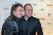 2018, Oktober 01. TivoliVredenburg, Utrecht. Buma NL Awards 2018. Op de foto: Marco Borsato en Frans Bauer