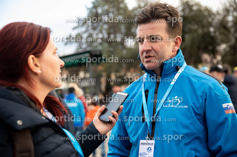 Ales Kalan, Secretary General of Slovenia Cycling federation during the cycling race 6. VN Slovenske Istre / 6th Slovenian Istra Grand Prix, on February 24, 2019 in Izola/ Isola, Slovenia. Photo by Vid Ponikvar / Sportida