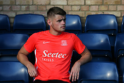 Charlie Kelman of Southend United prior to kick off - Mandatory by-line: Arron Gent/JMP - 24/07/2019 - FOOTBALL - Roots Hall - Southend-on-Sea, England - Southend United v Millwall - pre season friendly