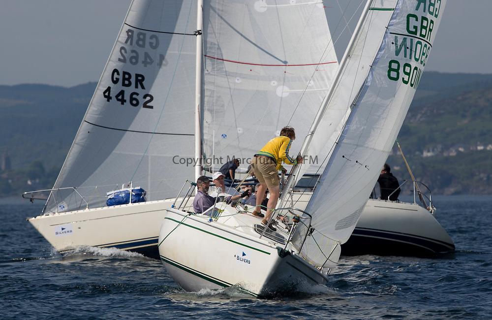 Silvers Marine Scottish Series 2017<br /> Tarbert Loch Fyne - Sailing<br /> <br /> GBR8901N, Wicked Wookie, Euan Aitken, CCC, Sonata OD