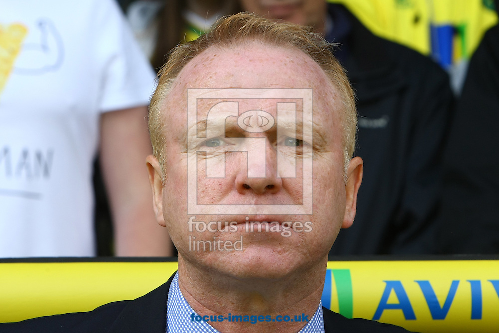 Picture by Paul Chesterton/Focus Images Ltd.  07904 640267.13/05/12.Aston Villa Manager Alex McLeish before the Barclays Premier League match at Carrow Road Stadium, Norwich.