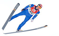 18.12.2016, Nordische Arena, Ramsau, AUT, FIS Weltcup Nordische Kombination, Skisprung, im Bild David Pommer (AUT) // David Pommer of Austria during Skijumping Competition of FIS Nordic Combined World Cup, at the Nordic Arena in Ramsau, Austria on 2016/12/18. EXPA Pictures © 2016, PhotoCredit: EXPA/ JFK