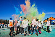 Arctic Dash Color Splash 5k - January 5, 2013