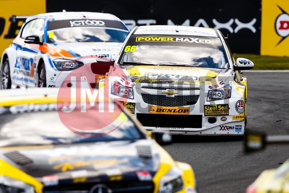 Josh Cook | #66 PowerMaxed Racing Chevrolet Cruze | British Touring Car Championship Race 1 - Photo mandatory by-line: Rogan Thomson/JMP - 07966 386802 - 07/06/2015 - SPORT - MOTORSPORT - Little Budworth, England - Oulton Park Circuit.