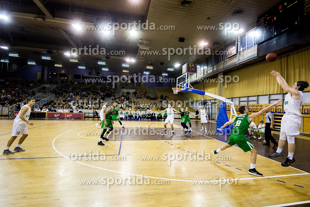 Luka Voncina of Ilirija during basketball match between KK Ilirija and KK Petrol Olimpija in 10th Round of Nova KBM Basketball League 2017/18, on December 17, 2017 in Hala Tivoli, Ljubljana, Slovenia. Photo by Vid Ponikvar / Sportida