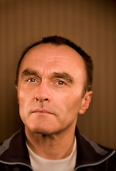 """Portrait of British film director Danny Boyle Feb 26 in San Francisco, CA.  Boyle, won the Best Director Oscar Award for """"Slumdog Millionaire"""" and  has directed """"Trainspotting"""", """"28 Day's Later"""" and """"Millions.""""  Boyle prefers to follow the path of his  filmmaking impulses,  rather than staying a course that would let anyone pigeonhole him.  Photo by  Kim Kulish"""