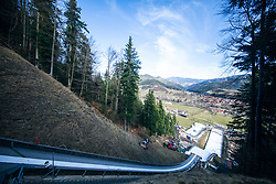 during practice round on Day 1 of FIS Ski Jumping World Cup Ladies Ljubno 2020, on February 22th, 2020 in Ljubno ob Savinji, Ljubno ob Savinji, Slovenia. Photo by Matic Ritonja / Sportida