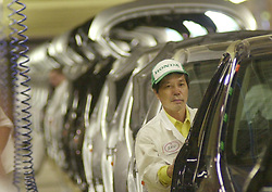 File photo dated 10/09/01 of the Swindon Honda factory, as unconfirmed reports say the company is planning to close its plant in the town in three years time.