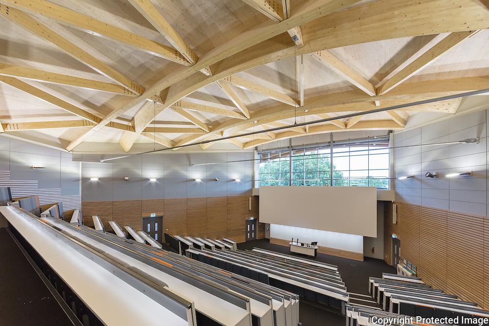 Oculus Building, Warwick University, October 2016. Architect: Berman Guedes Stretton.
