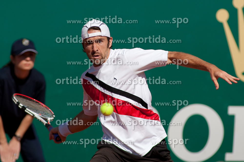 14.04.2010, Country Club, Monte Carlo, MCO, ATP, Monte Carlo Masters, im Bild Benjamin Becker (GER) in action during the second round. EXPA Pictures © 2010, PhotoCredit: EXPA/ M. Gunn / SPORTIDA PHOTO AGENCY