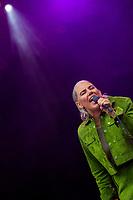 Natalie Sandtorv under Jugendfest 2018 på Color Line Stadion i Ålesund.