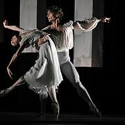 11.07.2011 Sir Fredick Ashton's production of Romeo & Juliet performed by the Bolshoi Ballets stars Ivan Vasilev (Romeo) and Natalia Ospipova (Juliet) at The London Coliseum UK