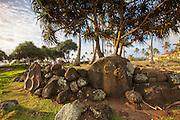Hikina'akala Heiau, Wailua River State Park, Kauai, Hawaii
