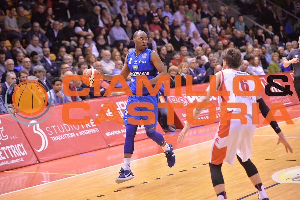 Sport basket serie a reggio emilia - germani brescia<br /> Landry marcus<br /> Legabasket serieA 2016/2017<br /> Reggio Emiliai 27/03/2017<br /> Foto Ciamillo-Castoria