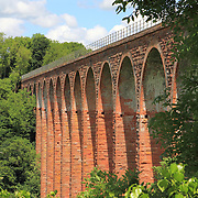 Leaderfoot Viaduct is a railway viaduct over the River Tweed in the Scottish Borders; opened on November 16, 1863 to carry the Berwickshire Railway.