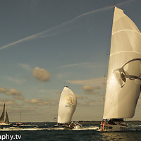 Open 60s Artemis Challenge Round the Island Race