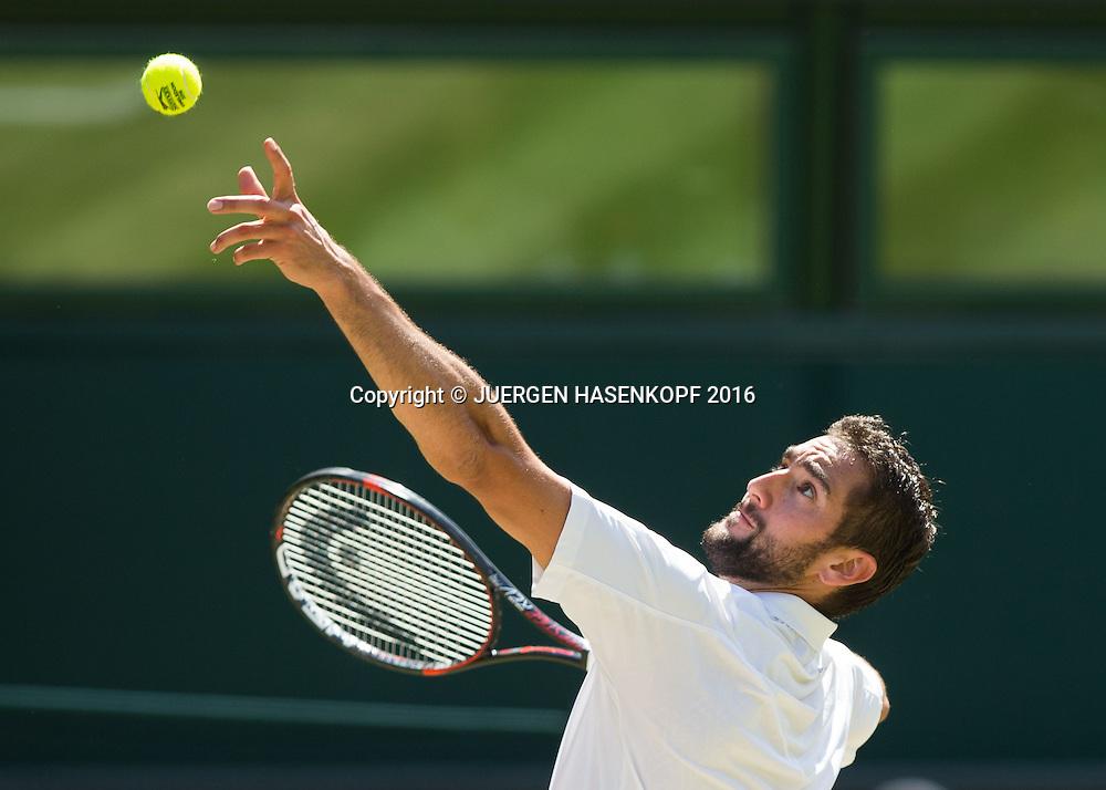 MARIN CILIC (CRO)<br /> <br /> Tennis - Wimbledon 2016 - Grand Slam ITF / ATP / WTA -  AELTC - London -  - Great Britain  - 6 July 2016.