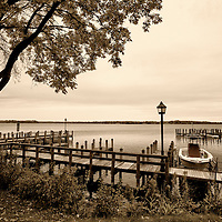 Boat and Dock in Wayzata, on Lake Minnetonka. Lake Minnetonka, Minnesota black and white  photos