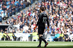 April 8, 2018 - Madrid, Madrid, Spain - Oblak (Club Atletico de Madrid) during the La Liga match between Real Madrid and Atletico de Madrid FC at Estadio Santiago Bernabeu. (Credit Image: © Manu Reino/SOPA Images via ZUMA Wire)