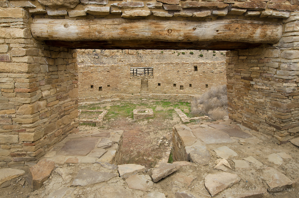 Kiva at Casa Rinconada, Chaco Culture National Historical Park, New Mexico