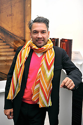 CARLOS MOTA at the Moet Hennessy Pavilion of Art & Design London Prize 2009 held in Berkeley Square, London on 12th October 2009.