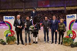 Van Der Putten Marieke, NED, Glocks Toto Jr<br /> Dressuur Klasse M<br /> KWPN Hengstenkeuring 2017<br /> © Dirk Caremans<br /> 03/02/17