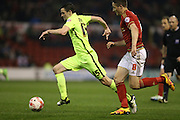Brighton winger, Jamie Murphy (15) during the Sky Bet Championship match between Nottingham Forest and Brighton and Hove Albion at the City Ground, Nottingham, England on 11 April 2016.