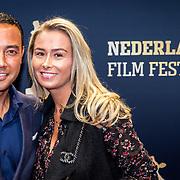 NLD/Utrecht/20170921 - Premiere Kuyt, Denny Landzaat en partner Annemarie de Waal