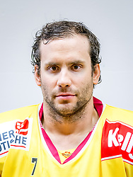 21.08.2013, Albert Schultz Halle, Wien, AUT, EBEL, Spielerportraits UPC Vienna Capitals, im Bild Adrian Veideman // during UPC Vienna Capitals Player Portrait Session at the Albert Schultz Halle, Wien, Austria on 2013/08/21. EXPA Pictures © 2013, PhotoCredit: EXPA/ Sebastian Pucher