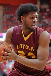 19 February 2017:  Aundre Jackson during a College MVC (Missouri Valley conference) mens basketball game between the Loyola Ramblers and Illinois State Redbirds in  Redbird Arena, Normal IL