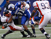 Hampton's Onrea Jones (81) had 5 catches for 43 yards and 1 touchdown during the 2006 New York Urban League Classic between Hampton and Morgan State at Giants Stadium in East Rutherford, New Jersey.  Hampton won 26-7.  September 23, 2006  (Photo by Mark W. Sutton)