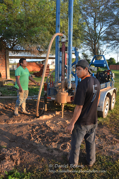 Water well drilling in Pailon, Bolivia with Agua Yaku