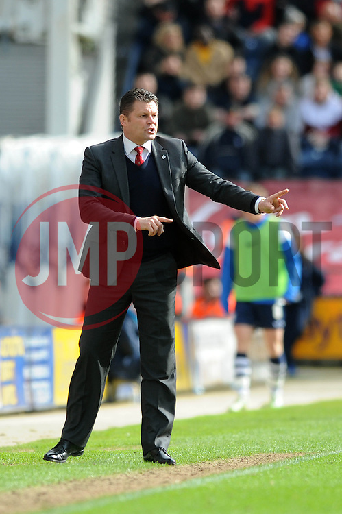 Bristol City manager, Steve Cotterill - Photo mandatory by-line: Dougie Allward/JMP - Mobile: 07966 386802 - 11/04/2015 - SPORT - Football - Preston - Deepdale - Preston North End v Bristol City - Sky Bet League One