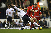 Photo: Marc Atkins.<br /> Tottenham Hotspur v Liverpool. The Barclays Premiership. 30/12/2006.