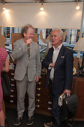 CRAIG BROWN; PADDY RENOUF, Elliott and Thompson host a book launch of How the Queen can Make you Happy by Mary Killen.- Book launch. The O' Shea Gallery. St. James's St. London. 20 June 2012.