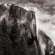 Yosemite National Park in winter
