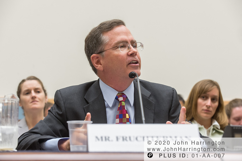 """Jim Fruchterman, President and CEO, Benetech, testifies before the House Committe on the Judiciary on """"Innovation in America: The Role of Technology"""", August 1, 2013on Capitol Hill in Washington, DC."""