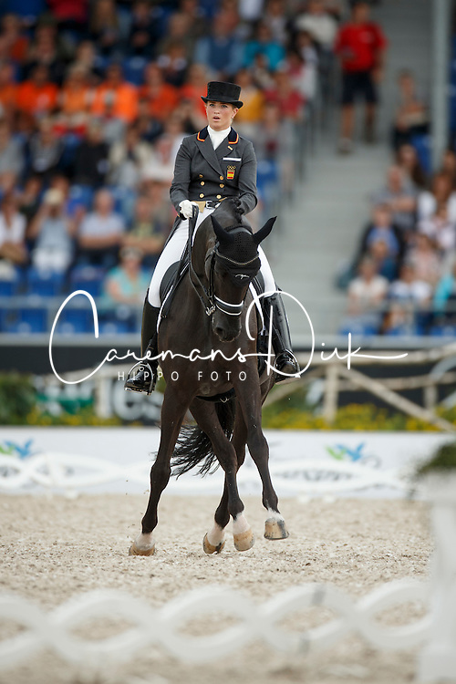 Barbancon Mestre Morgan, (ESP), Painted Black<br /> Grand Prix Special<br /> European Championships - Aachen 2015<br /> &copy; Hippo Foto - Dirk Caremans<br /> 15/08/15