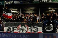 supporters of AZ Alkmaar celebrate the victory