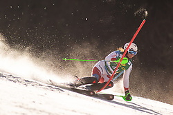 Carole Bissig (SUI during the Ladies' Slalom at 56th Golden Fox event at Audi FIS Ski World Cup 2019/20, on February 16, 2020 in Podkoren, Kranjska Gora, Slovenia. Photo by Matic Ritonja / Sportida