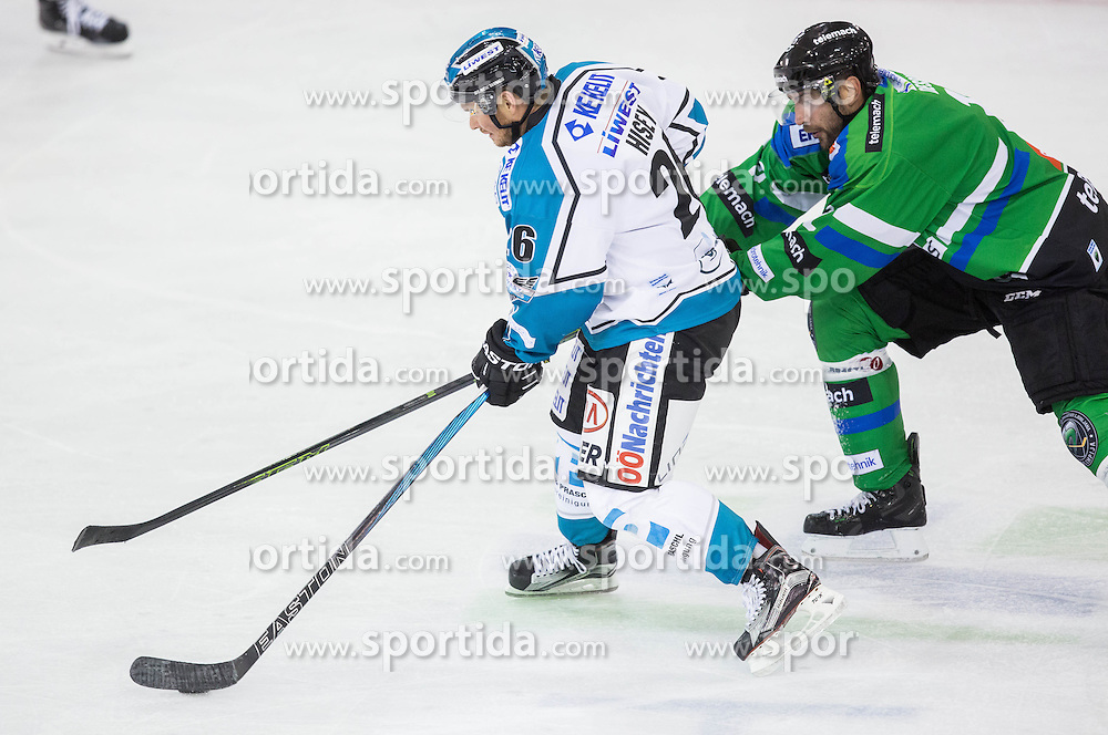 Rob Hisey (Black Wings Linz), Guilaume Desbiens (HDD Olimpija)