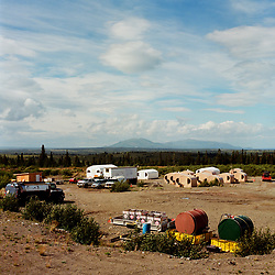 "Alaska Peninsula Corporation's ""Man Camp"" in Kokhanok, Alaska<br />