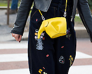 JW Anderson Elephant Bag, Outside Gucci FW2017