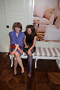 LUCY SCHOLES; HANNAH ROSS, Book launch party for the paperback of Nicky Haslam's book 'Sheer Opulence', at The Westbury Hotel. London. 21 April 2010 *** Local Caption *** -DO NOT ARCHIVE-© Copyright Photograph by Dafydd Jones. 248 Clapham Rd. London SW9 0PZ. Tel 0207 820 0771. www.dafjones.com.<br /> LUCY SCHOLES; HANNAH ROSS, Book launch party for the paperback of Nicky Haslam's book 'Sheer Opulence', at The Westbury Hotel. London. 21 April 2010