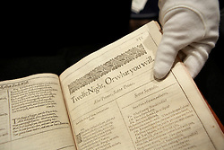 © under license to London News Pictures. (06/12/10)Sotheby's London Sale of Magnificent Books, Manuscripts and Drawings due to take place on 7th Dec 2010, from the collection of Frederick, 2nd Lord Hesketh, The Property of Trustees of the 2nd Baron Hesketh's Will Trust. Photo credit should read: Olivia Harris/ London News Pictures