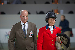 John and Beezie Madden (USA)<br /> Rolex FEI World Cup ™ Jumping Final <br /> 'S Hertogenbosch 2012<br /> © Dirk Caremans