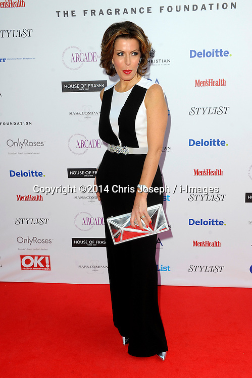 Natasha Kaplinski attends the Fifi awards ceremony, The Brewery, London, United Kingdom. Thursday, 15th May 2014. Picture by Chris Joseph / i-Images