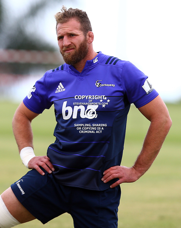 DURBAN, SOUTH AFRICA, 24,MARCH, 2016 - Kieran Read during The Crusaders training session  at Northwood School Durban North in Durban and the Crusaders Media conference, South Africa. (Photo by Steve Haag)<br /> <br /> images for social media must have consent from Steve Haag