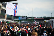 June 14-19, 2016: 24 hours of Le Mans. Fan at the 24 hours of Le Mans